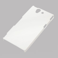 Чехол для 3D пластиковый белый глянцевый для XPERIA Z L36h