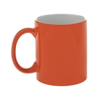 Кружка-хамелеон, оранжевая, 330 мл