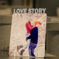 Фоторамка «Love story», дерево, 122х187мм