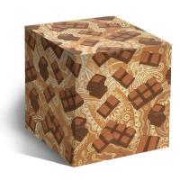 """Коробка под кружку """"Шоколадка"""""""