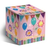 """Коробка под кружку """"С Днём рождения"""""""