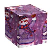 """Коробка под кружку """"Снеговик"""""""