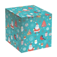 """Коробка под кружку """"Дед Мороз"""""""