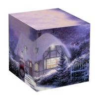 """Коробка под кружку """"Новогодний домик"""""""