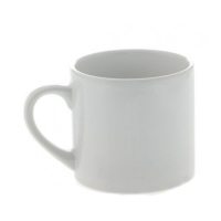 Кофейная чашка, керамическая, белая, 170 мл