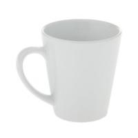Кружка-латте, белая, керамическая, 330 мл