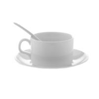 Кофейная чашка с блюдцем и ложечкой, 110 мл