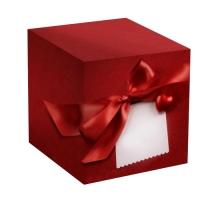 """Коробка под кружку """"Красное сердце"""""""