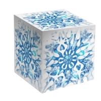 """Коробка под кружку """"Снежинка"""""""
