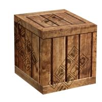 """Коробка под кружку """"Деревянный ящик"""""""