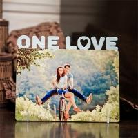Фоторамка  «One love», дерево, 172х169мм