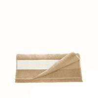 Полотенце махровое 30*70 см, 400 г/м2, хлопок, бежевое
