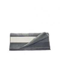 Полотенце махровое 30*70 см, 400 г/м2, хлопок, серое
