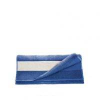 Полотенце махровое 30*70 см, 400 г/м2, хлопок, синее